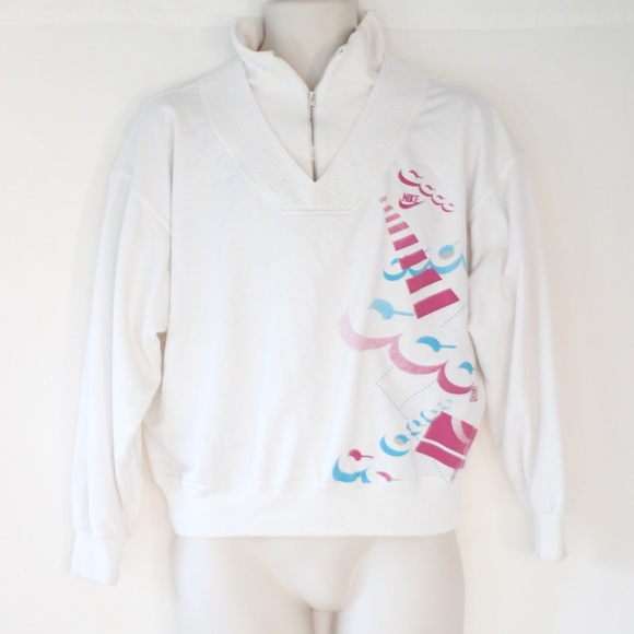 7794b26c Nike Sweaters | Challenge Court Sweatshirt Andre Agassi Vtg | Poshmark